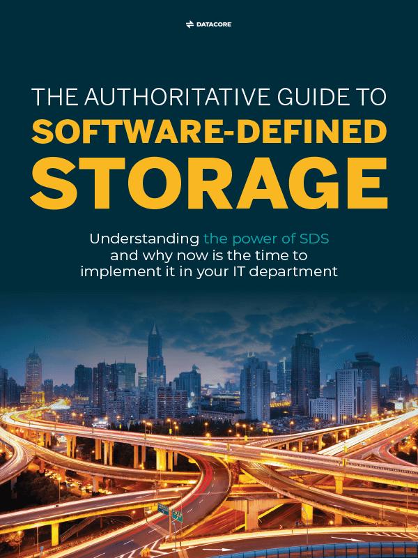 """E-Book """"Der ultimative Leitfaden für Software-Defined Storage"""""""