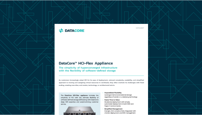 DataCore HCI-Flex Appliance