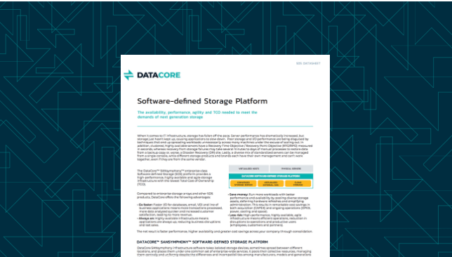Software-Defined Storage Platform