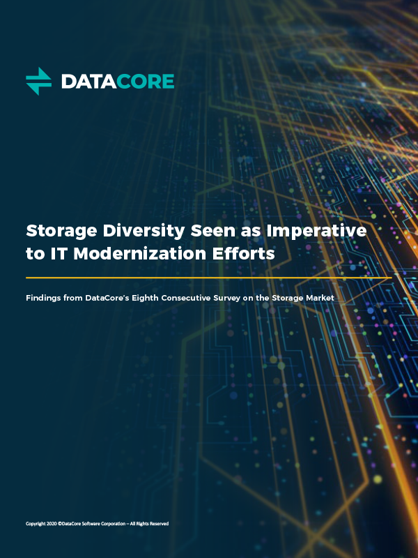 Storage Diversity Seen As Imperative To It Modernization Efforts Thumb